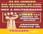 Carta Aberta Nacional da Fenasps Contra o Desmonte do INSS