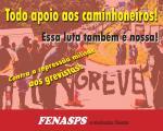 Todo apoio à luta dos caminhoneiros! Contra a repressão militar aos grevistas! Leia nota