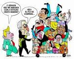Os votos de 263 deputados corruptos salvam o chefe da quadrilha