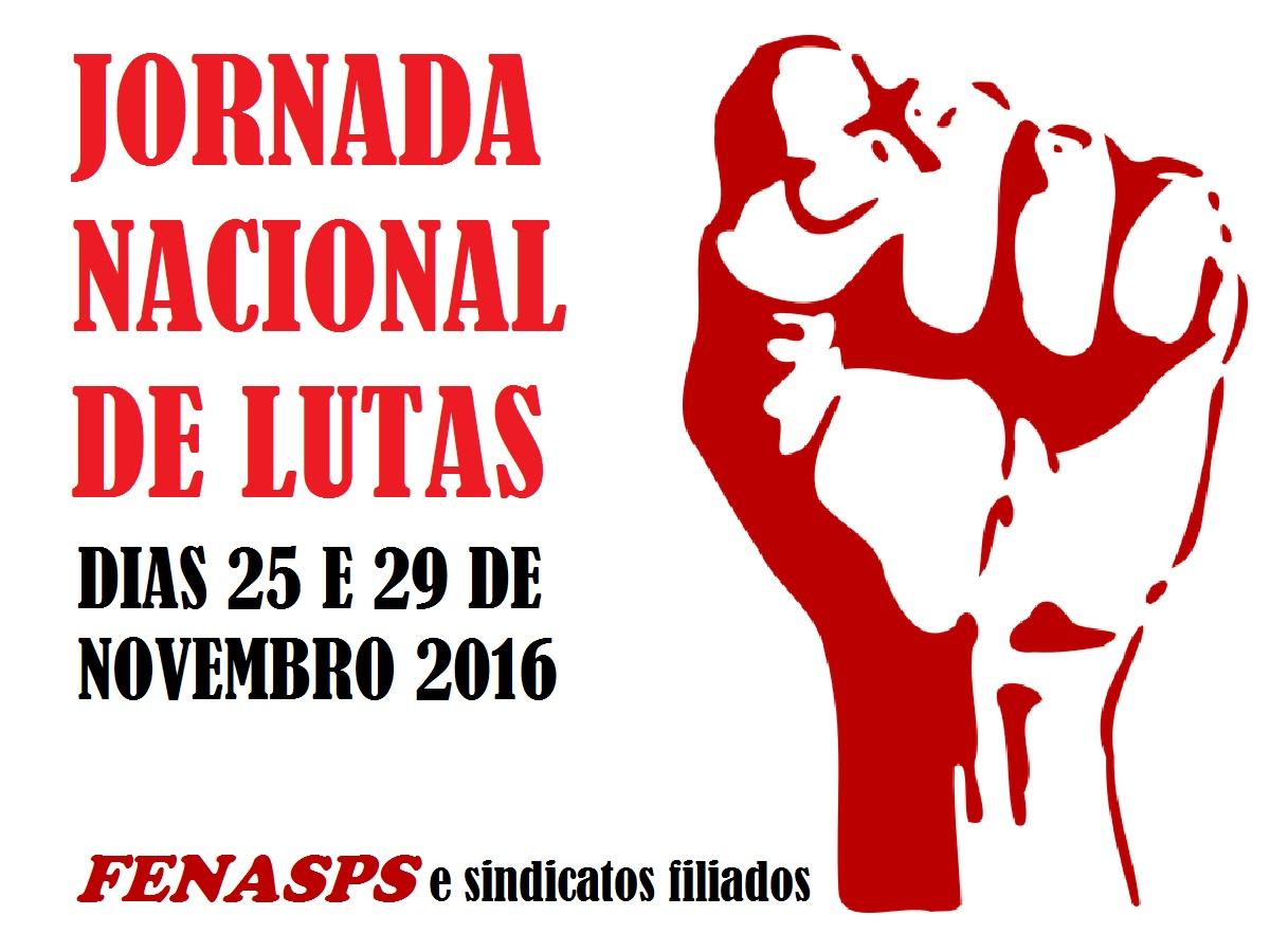 Jornada de Lutas - 25 e 29 de novembro