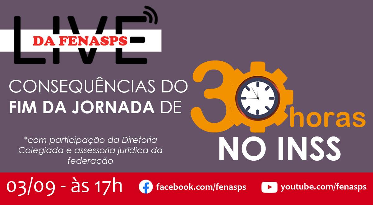 Live: as consequências do fim da jornada de 30h para servidores do INSS